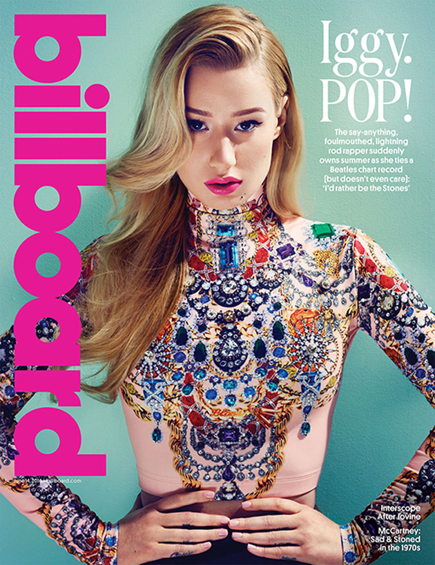 Check out Iggy as she gets featured as the cover for Billboard Magazine!