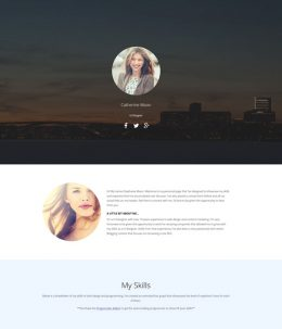 personal page