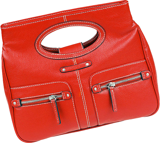 New Red Hand Bag
