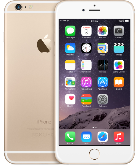 iphone6p gold select 2014 Fullheight / Image