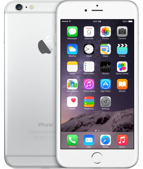 iphone6p silver select 2014 Fullheight / Image