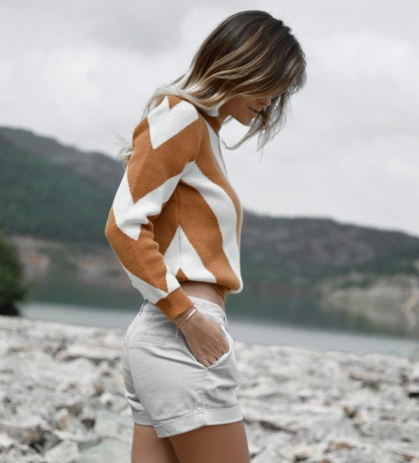 Hailey Amber Knit Sweater