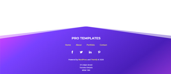 Footer Image Template GS