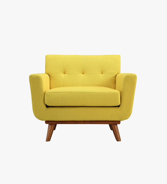 vintage-yellow-single-sofa