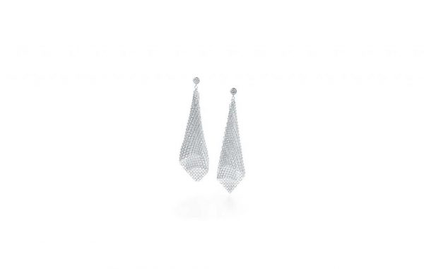 Mesh-scarf-earrings