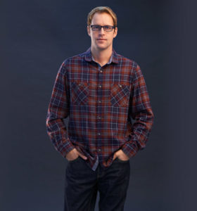 Men's Casual Plaid Shirt