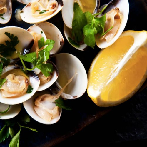 lemon-clams