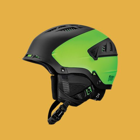 Carbone Ski Helmet - Green