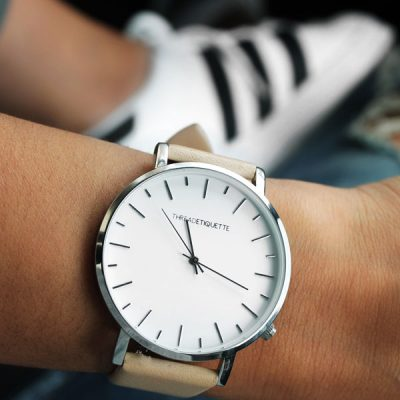 Rounded Elegant Women's Watch