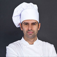 Executive Chef Trained at the prestigious Massimo Ristorante in Milano, he's lead this team for 10 years.