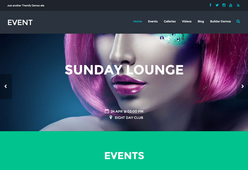 Event - Responsive Theme For Bands, Nightclubs, Restaurants, Bars...
