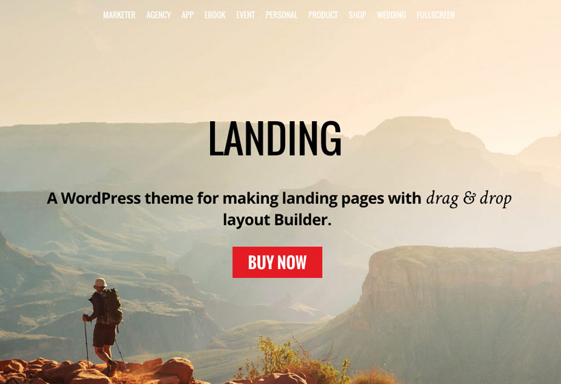 Landing Themify Theme(PSD Included) Free Download
