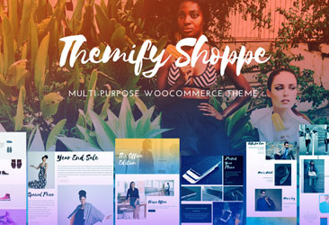 Shoppe: WooCommerce Themify Theme(PSD Included) Free Download