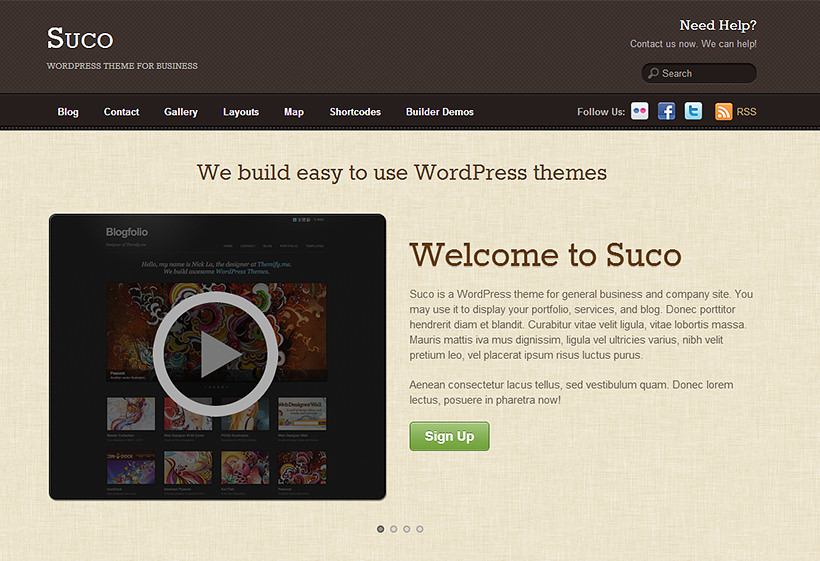 Suco - Responsive Business Theme by Themify