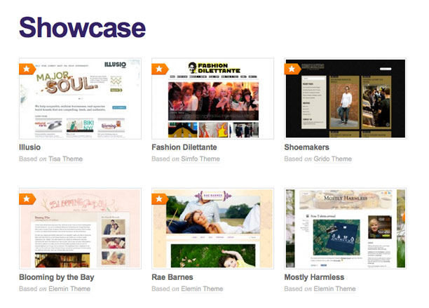 Themify showcase