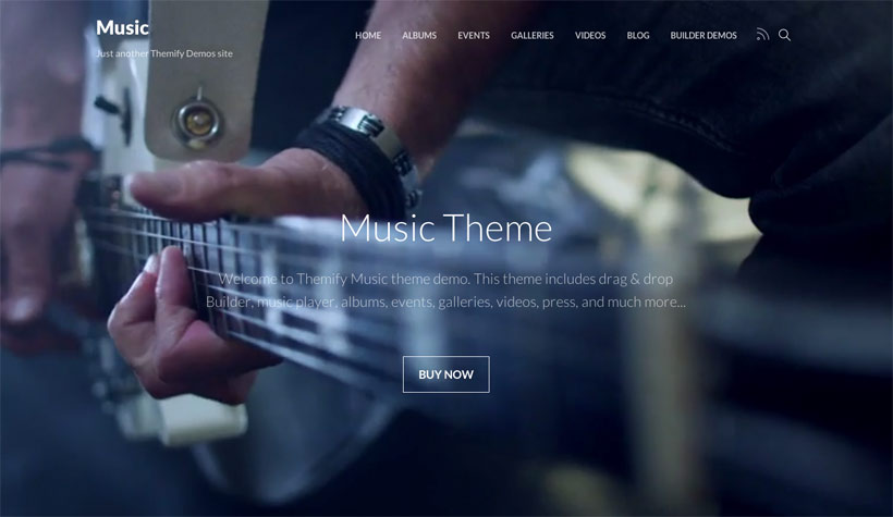 Music - Artists, Events, Portfolios, Photographers, and Apps