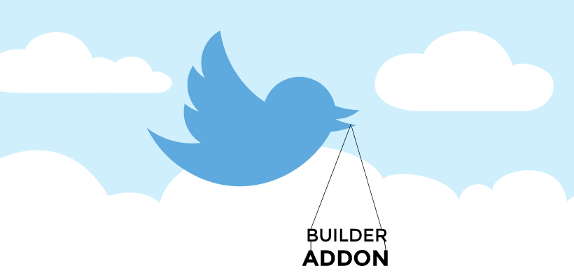 WordPress theme Tweet for a FREE Builder Addon