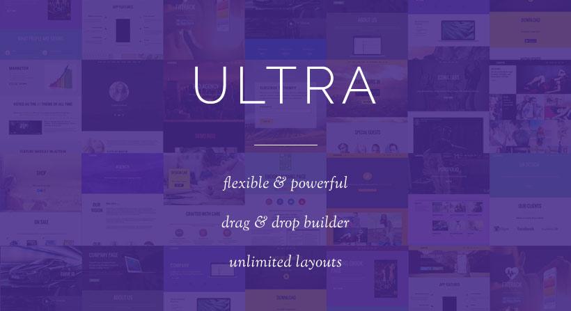 WordPress theme Ultra Sale – 30% OFF