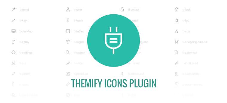 WordPress theme Free Themify Icons Plugin