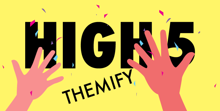 WordPress theme High5 Themify!