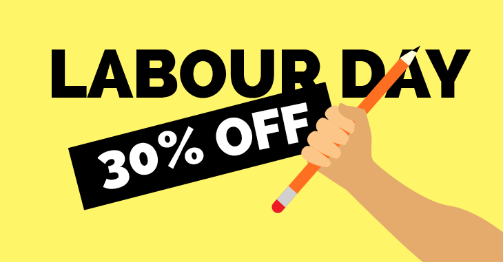 WordPress theme Super Labour Week Sale