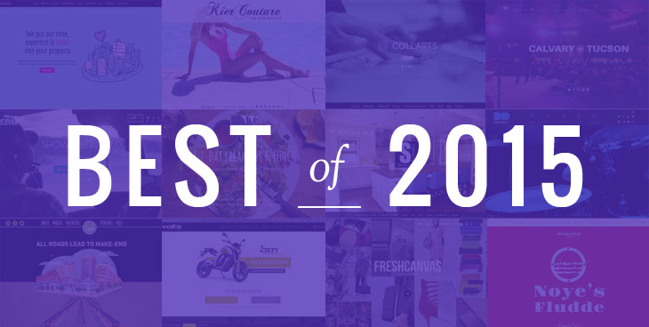 WordPress theme Top 30 Showcase Sites For 2015
