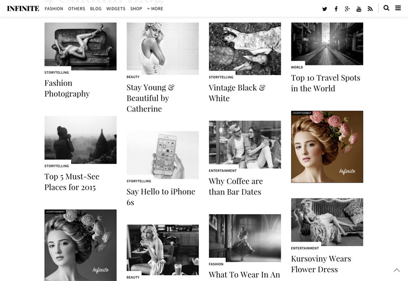 infinite [Free Download] Infinite Magazine Wordpress Theme