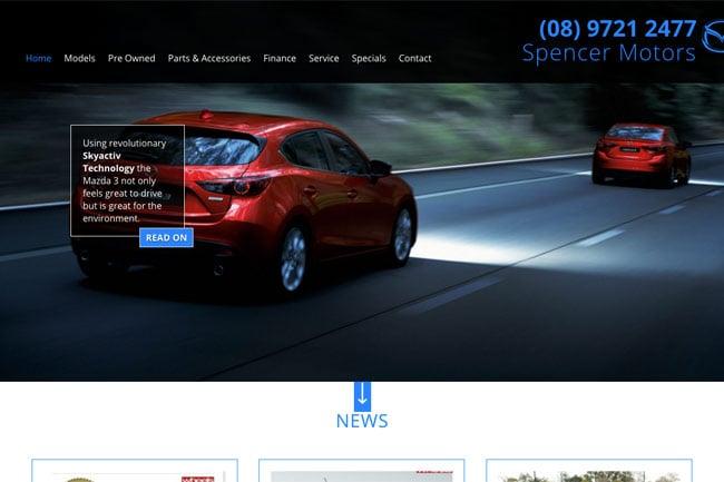 Spencer Motors Screenshot