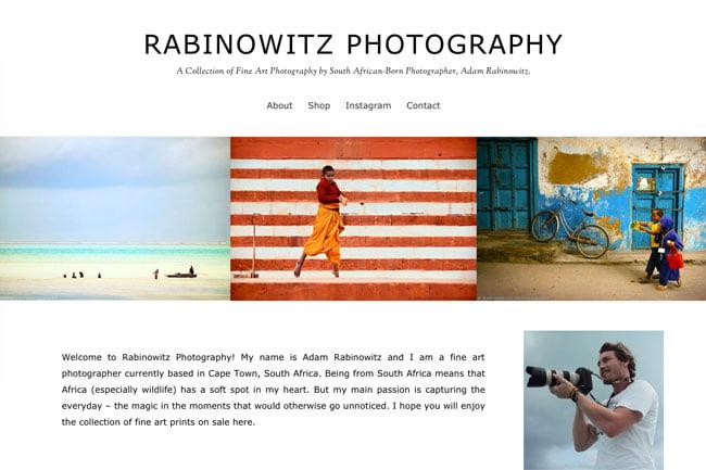 Rabinowitz Photography screenshot