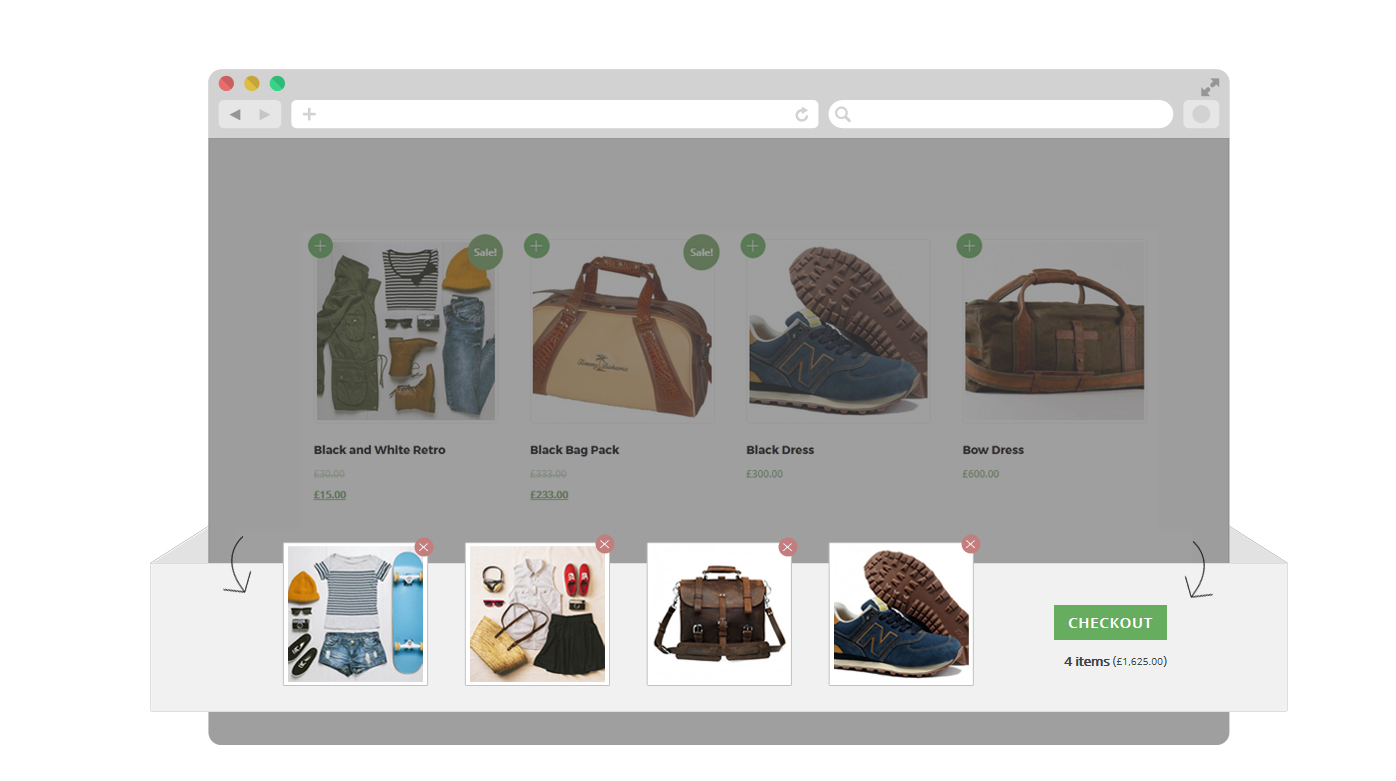 WordPress theme Fresh Redesign of the WooCommerce Shopdock