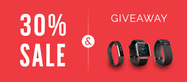 WordPress theme 30% LOVE Sale + Fitbit Giveaway!