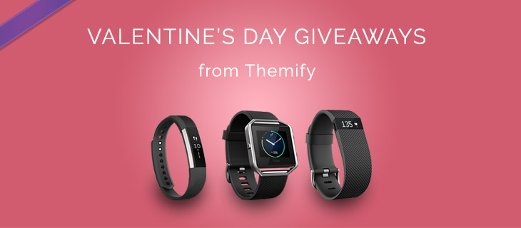 WordPress theme FitBit + Master Club Valentines Giveaway!