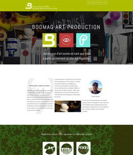 Art Production Builder layout