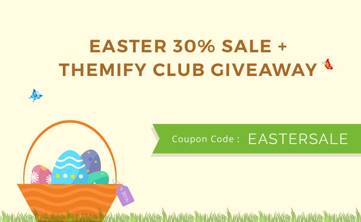 Easter week promotion
