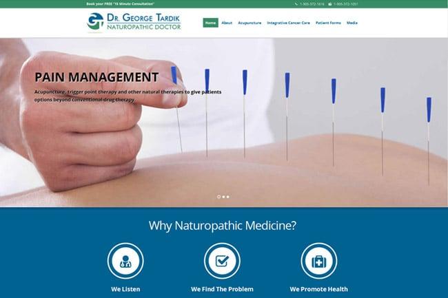 Dr. George Tardik screenshot