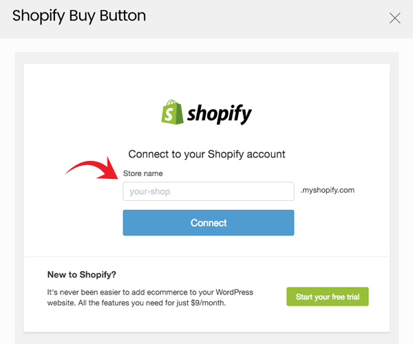 sync your Shopify store with WordPress