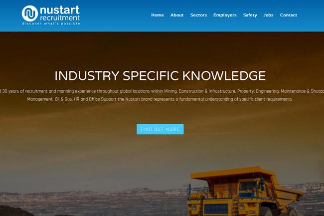 Nustart Recruitment Screenshot