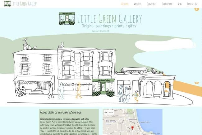Little Green Gallery screenshot