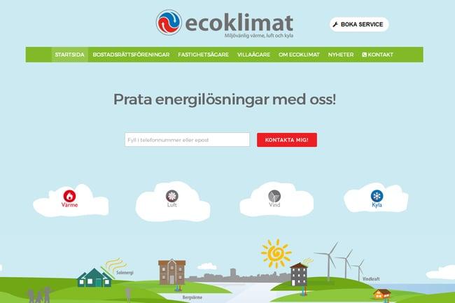 Ecoklimat screenshot