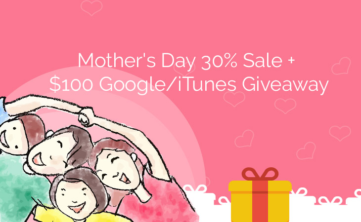 WordPress theme Mother's Day $100 Gift Card Giveaway!