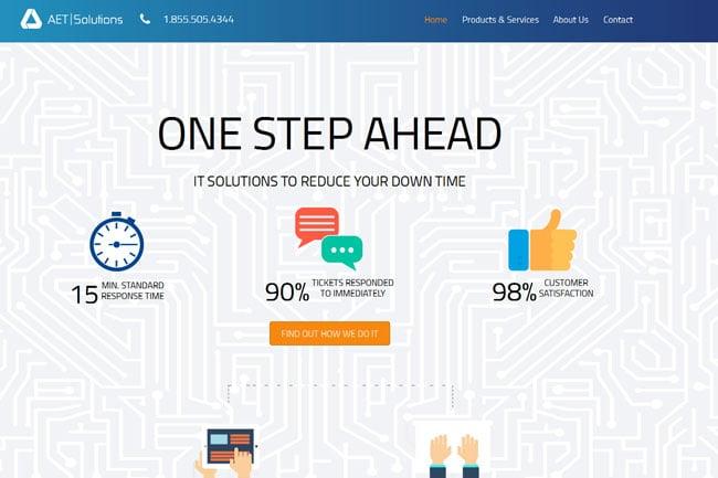 AET Solutions screenshot