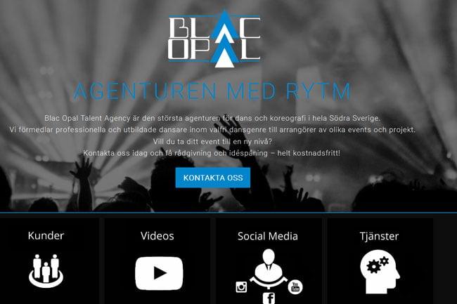 Black Opal Talent Agency screenshot