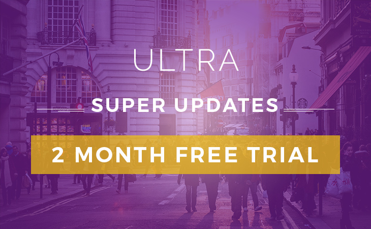WordPress theme Ultra Update: More Layouts & 2 Month Free Trial!