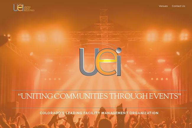 United Event Industries screenshot