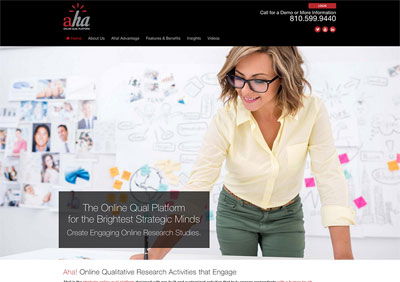 Aha Online Qual Platform