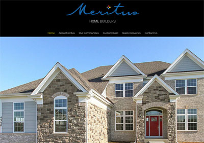 Meritus Home Builders screenshot
