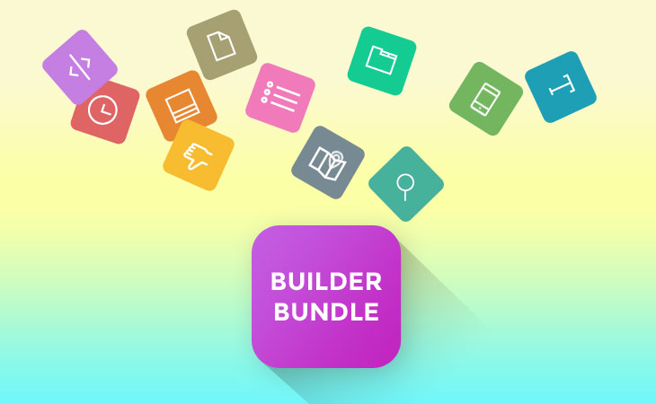 WordPress theme New Builder Bundle for $59 = Themify Builder + All Builder Addons