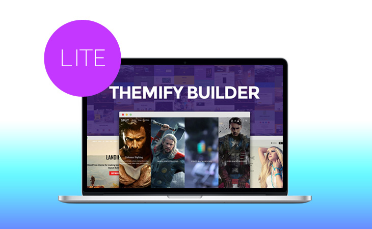 WordPress theme Free Themify Builder Lite Plugin