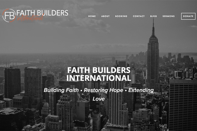 Faith Builders International Screenshot