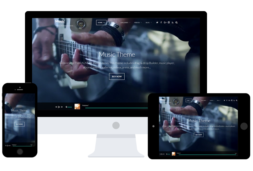 Themify Music WordPress Theme